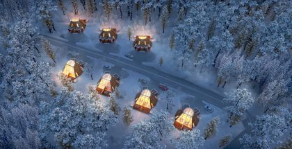 igloo-lapland-santa-claus-village-snowman-world-glass-resort-winter