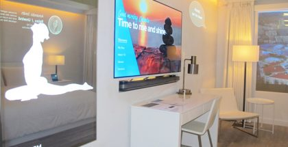Marriott International Teams with Samsung and Legrand to Launch the Industry's Internet of Things (IoT) Hotel Room (PRNewsfoto/Marriott International, Inc.)