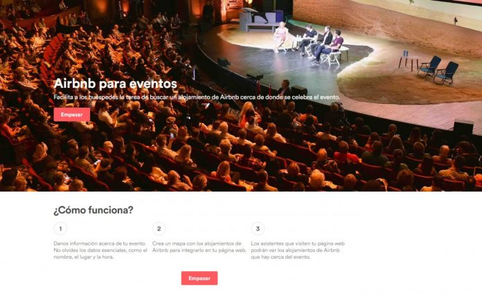 airbnb for events