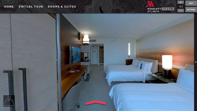 marriott gaming realidad virtual hotel videojuego