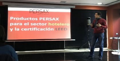intervencion Persax conferencia bioeconomic certificacion leed