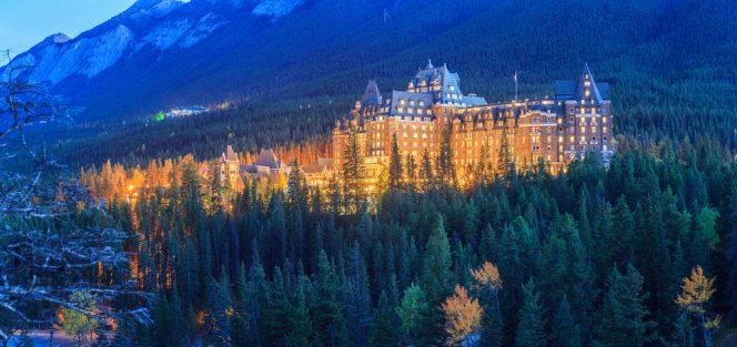 Fairmont Banff Springs, Canadá hoteles misteriosos