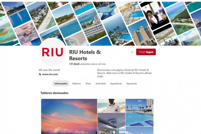 riu hotels pinterest