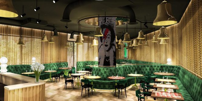 Render nhow London Restaurant