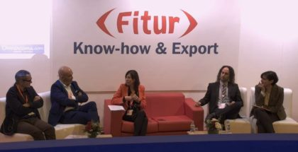 Pilar Soret en el smart talk de know how export FITUR accesibilidad ilunion