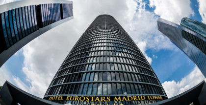 eurostars hotusa madrid tower
