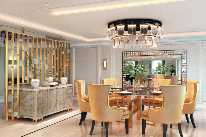 SPL Regent Suite Dining Area