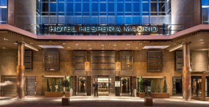 hesperia hyatt madrid