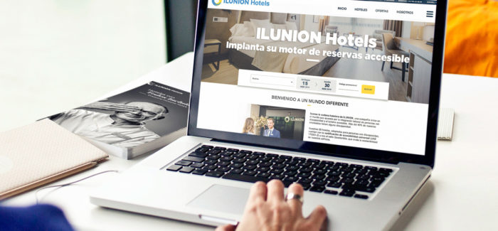Ilunion Hotels implanta un motor de reservas accesible