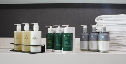 marriott botes champú gel amenities