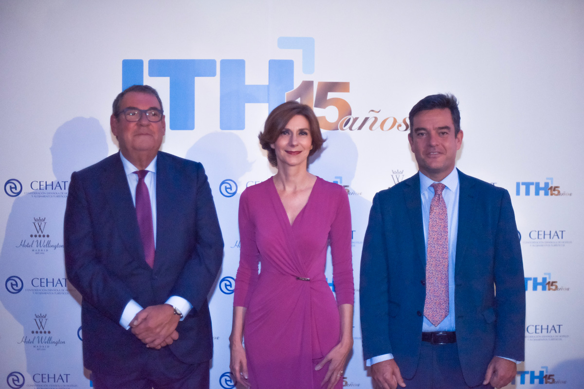 Isabel Oliver, Joan Molas y Alvaro Carrillo ITH
