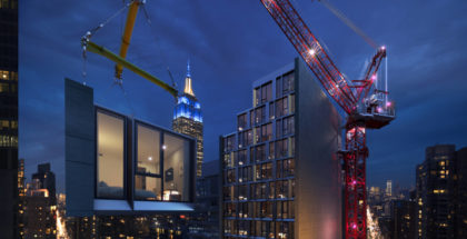 hotel modular AC Marriott Manhattan