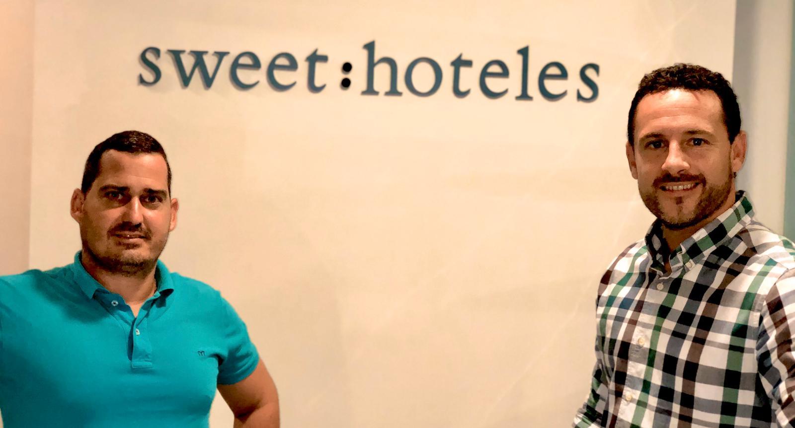 Sergio Navarro y Luis Fernández, de Sweet Hoteles