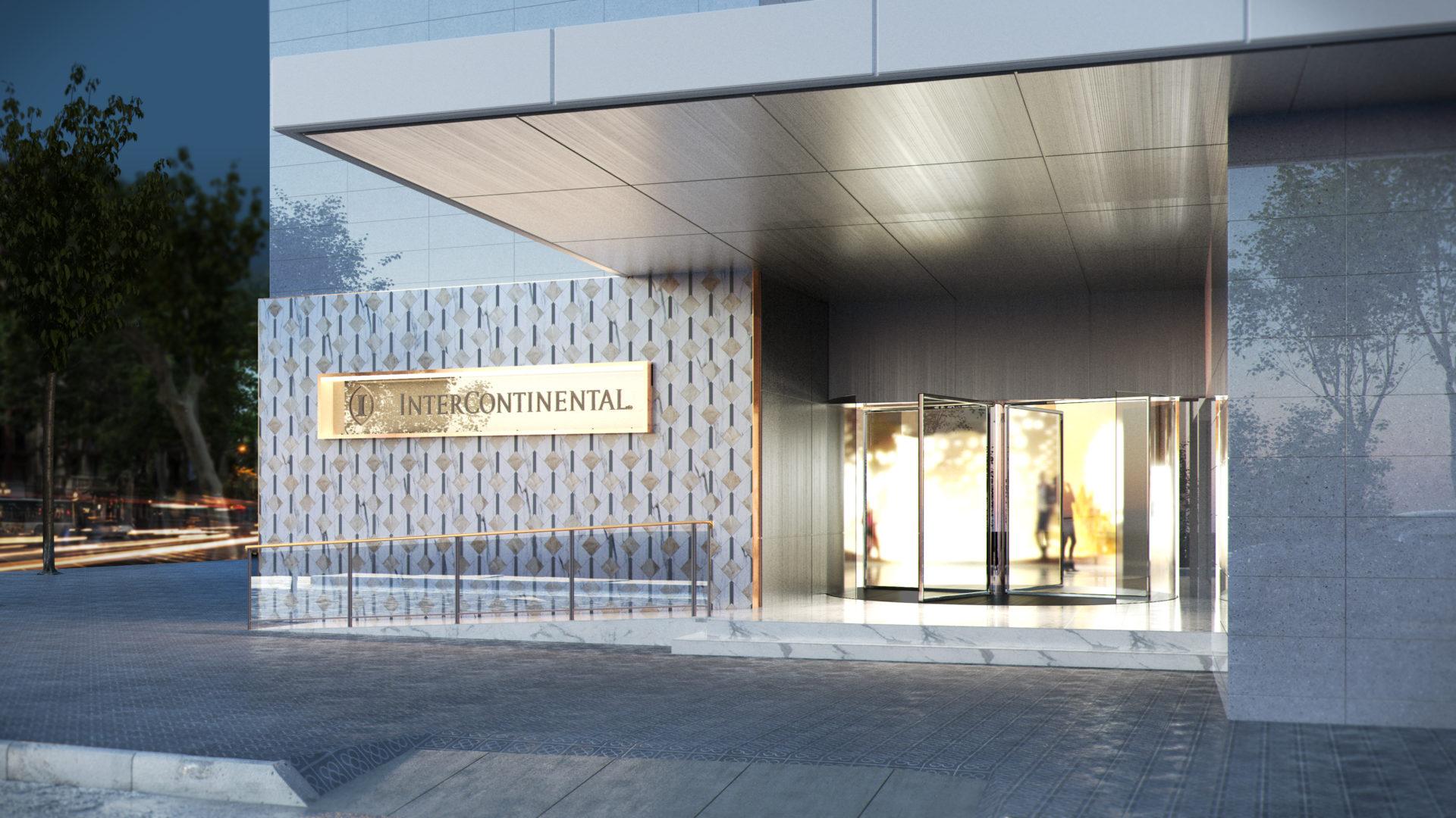 InterContinental Barcelona_Entrada hotel